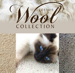 View the Fotakis Pure Wool Carpet Collection